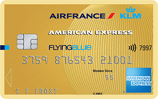 American Express Flying Blue Gold creditcard