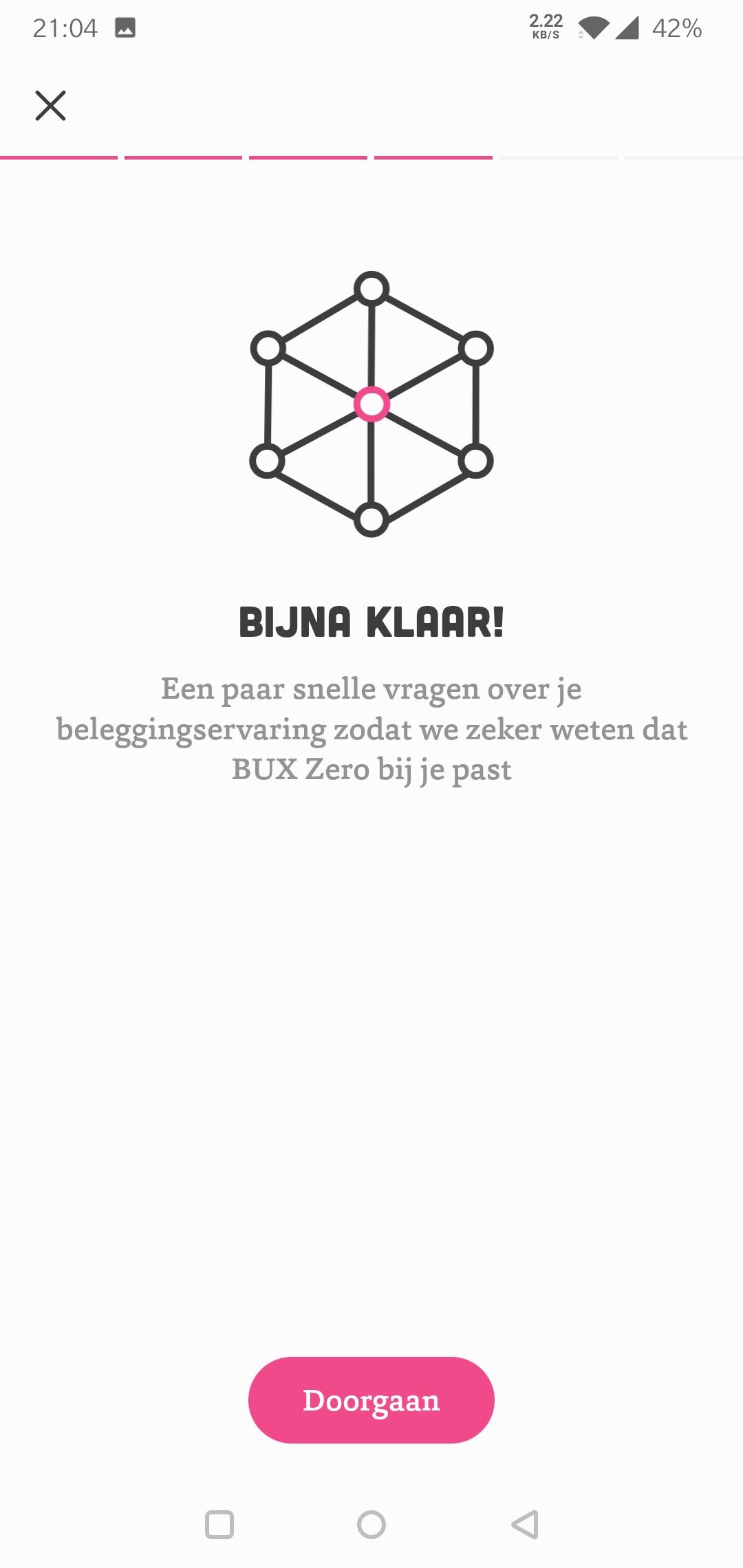 Bux Zero beleggingservaring